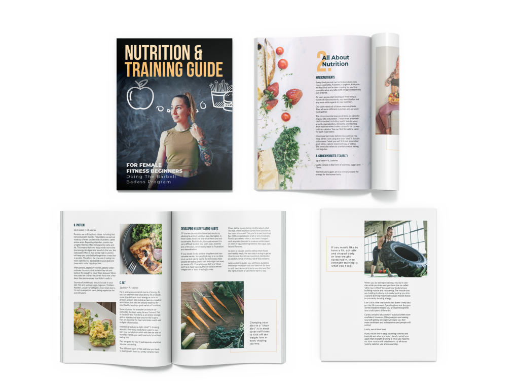 Nutrition and Training Guide